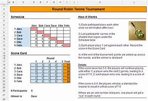 how to schedule a tennis tournament spreadsheetsolving With table tennis tournament template