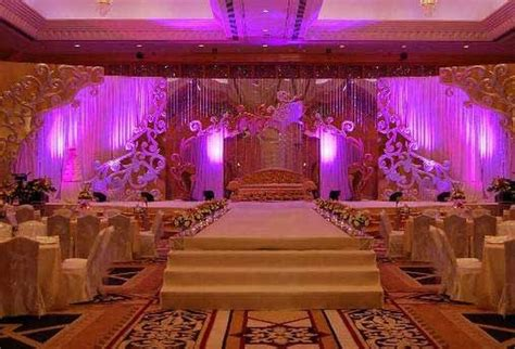 Indian Wedding Reception Decorations