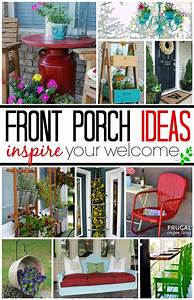 Front Porch Ideas - Inspire Your Welcome This Spring!