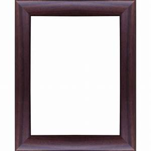 Cadre 40 X 60 : encadrement bois satin noyer avec verre et dos prix discount sur cadre ~ Teatrodelosmanantiales.com Idées de Décoration