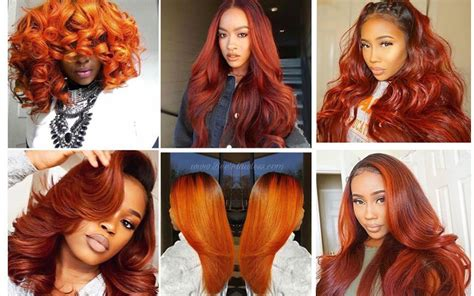 8 Trendy Fall Hairstyles For Oranger Hair-colored Human