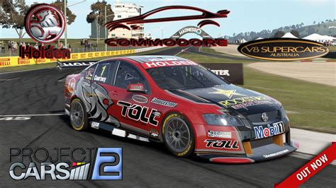 Project Cars 2 * Holden Commodore V8 Supercar [mod
