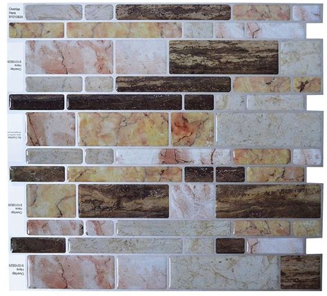 crystiles peel and stick self adhesive vinyl wall tiles