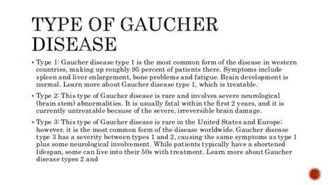 case study gaucher disease
