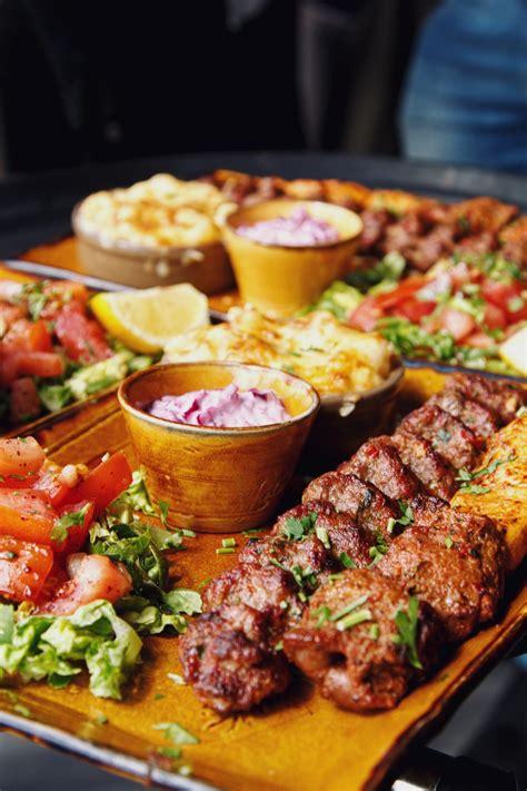 in cuisine tarshish mediterranean grill in