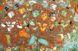 kerala mural paintings for sale