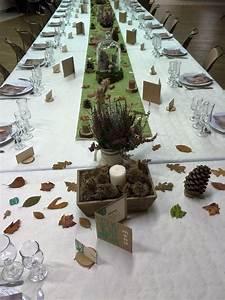 Deco Table Anniversaire 60 Ans : d co table 60 ans au coeur de la for t vert et bois ~ Dallasstarsshop.com Idées de Décoration