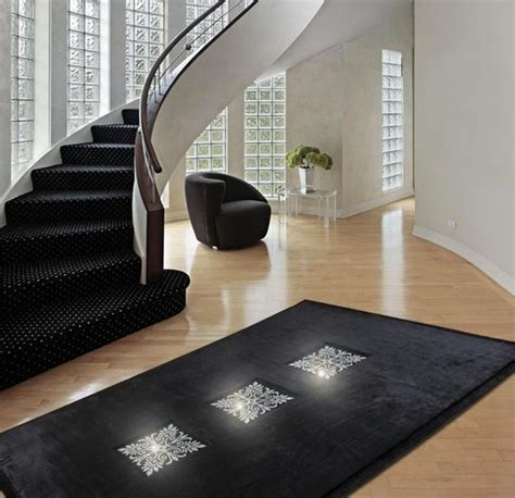 creative design ideas turning floor rugs  fabulous home