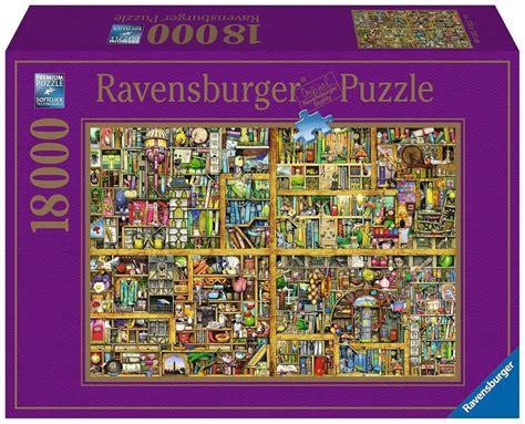ravensburger puzzle  teile magisches buecherregal