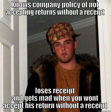 douchebag customer quickmeme