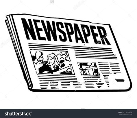 Newspaper Clipart Newspaper Clipart