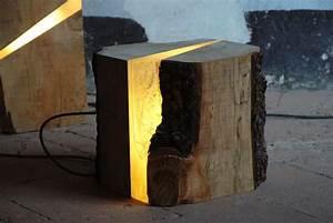 Light wood tree log floor lamp id lights for Wood tree floor lamp