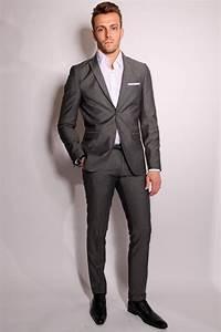 Costume Mariage Homme Gris : costume slim fit homme le mariage ~ Mglfilm.com Idées de Décoration