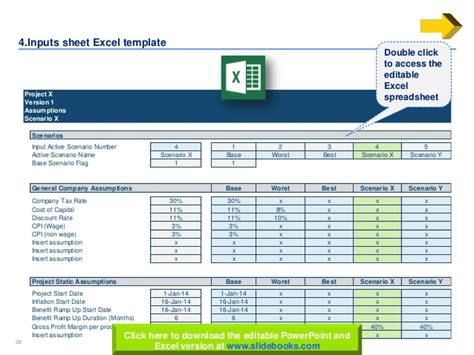 download excel budget template business case