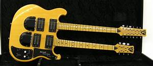 Lot 196  U2013 Shergold Custom Double Neck 6  12 Electric Guitar  Made In England  U00ab Guitar Auctions