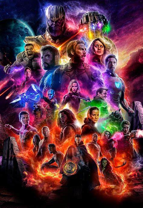 avengers  avengers endgame poster  ralfmef fondo de