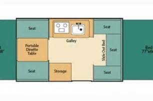 Rockwood Trailers Floor Plans