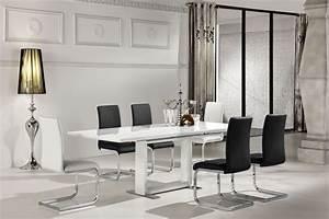 Esstisch Ausziehbar Hochglanz Weiß : esstisch ausziehbar daures 12 eckig farbe wei hochglanz abmessungen 76 x 120 170 x 80 ~ Sanjose-hotels-ca.com Haus und Dekorationen