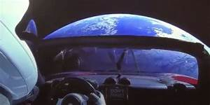 Voiture Tesla Dans L Espace : fus e falcon heavy et tesla dans l 39 espace elon musk propose un nouveau mod le de soci t ~ Medecine-chirurgie-esthetiques.com Avis de Voitures
