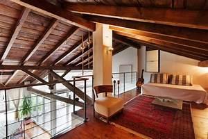 lit pour chambre mansarde dco chambre sou pente parquet With superb couleur mur bureau maison 11 deco florale maison