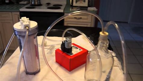 build  homemade wine filter   kitchen youtube