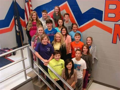 benton middle school announces library club marshall county