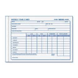 Free Employee Time Cards