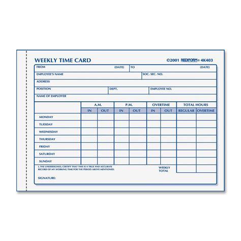 time card template madinbelgrade