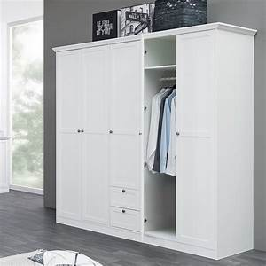 Kleiderschrank 350 Cm : kleiderschrank wei 190x200x67 cm dreht renschrank schrank landstr m 19 ebay ~ Indierocktalk.com Haus und Dekorationen