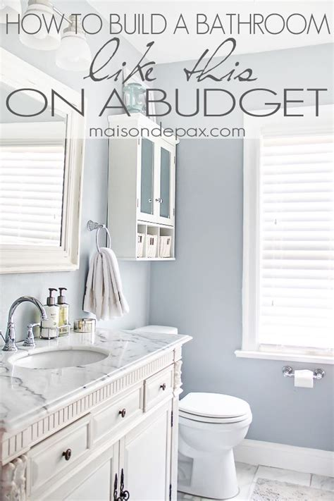 Great Paint Colors For Small Bathrooms by Bathroom Renovations Budget Tips Home Design Decor Diy