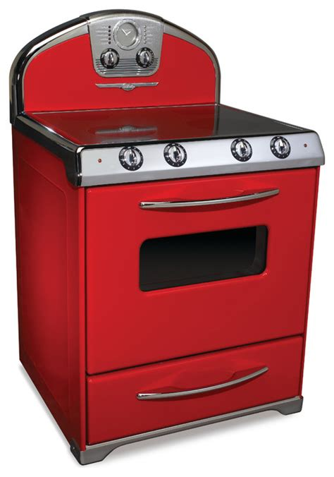 Want A Red Gas Range,30 Inch Space Houzz