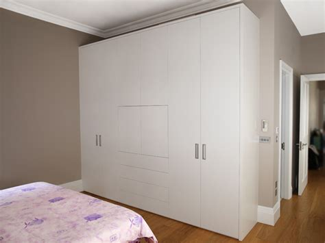 White And Wood Wardrobe by Bespoke Fitted Wardrobes Built In Wardrobes Furniture