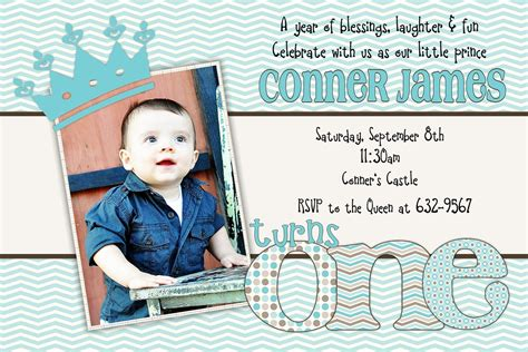 Little Prince Birthday Invitation by beenesprout on Etsy