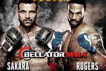 Bellator Sakara Rogers Alessio Mma Italy Brian