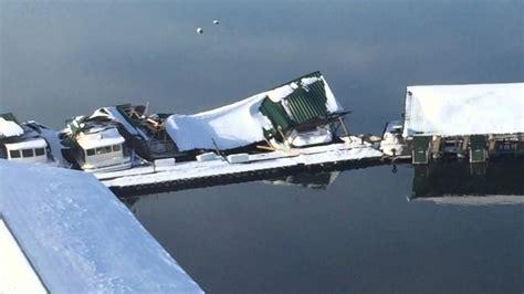 Boat R Lake Cumberland by 2016 Lake Cumberland Grider Hill Boat Dock Snow Damage
