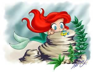 Kawaii Ariel Little Mermaid