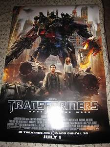Transformers: Dark Of The Moon Posters And Banners ...