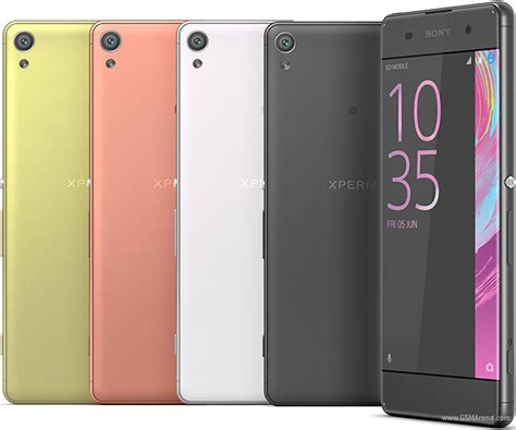 sony xperia xa pictures official