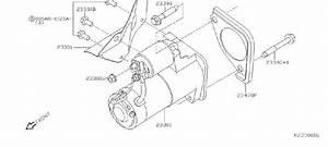 Nissan Xterra Starter Bolt  Motor