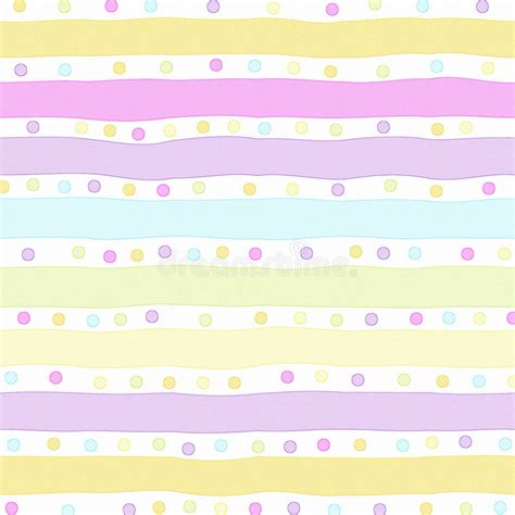 Pink and yellow striped wallpaper