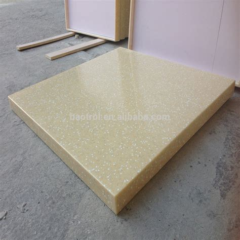 30mm thick custom cust marble table top white table base