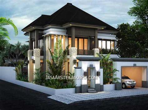 desain rumah luas   pak ahmad jakarta jasa arsitek