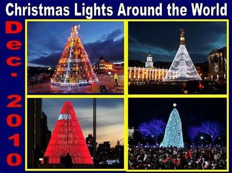 lights around the world dec 2010