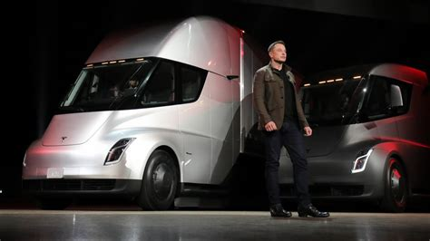 ups pre orders  tesla semi  electric trucks