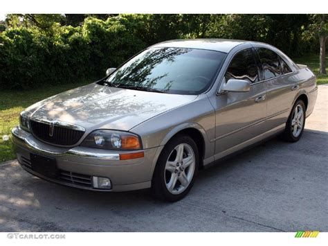 gold and silver ls 2000 light parchment gold metallic lincoln ls v6 11894044
