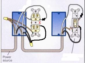 half switched outlet diagram wiring library insweb co