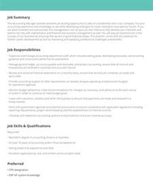 descriptions for resume description sles exles livecareer