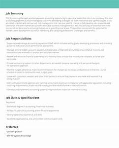 Job description samples examples livecareer for Creating job descriptions template