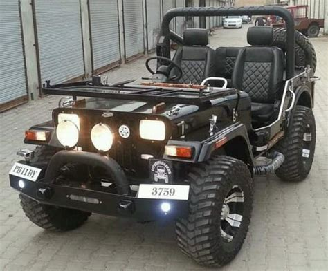 Jeep Open Black Open Punjab Jeep, Modified Jeep, Rs 385000