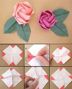 Rose Aus Geld Falten : papierfaltkunst origami rose origami rose papier ~ Lizthompson.info Haus und Dekorationen
